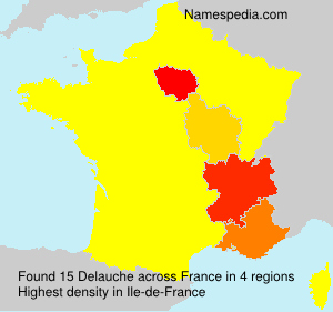 Surname Delauche in France