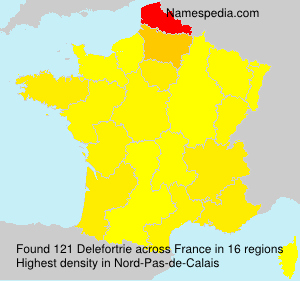 Surname Delefortrie in France