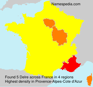 Surname Delre in France