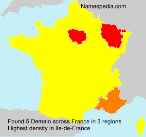 Surname Demaio in France