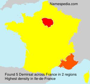 Surname Demirsal in France