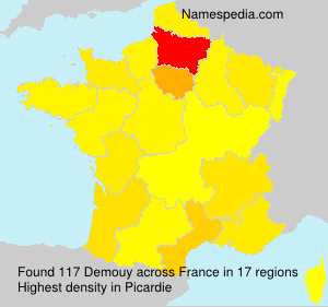 Surname Demouy in France