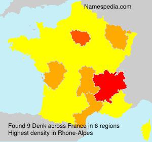 Surname Denk in France