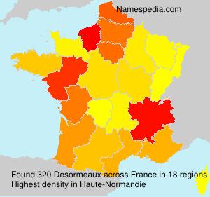 Surname Desormeaux in France