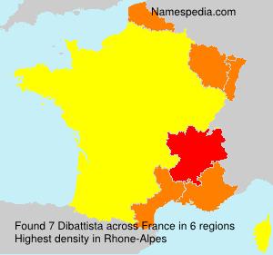 Surname Dibattista in France