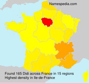 Surname Didi in France