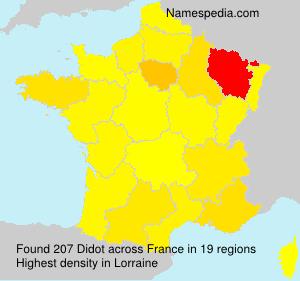 Familiennamen Didot - France