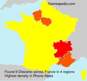 Ditaranto - Names Ency... Ditaranto