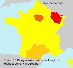 Surname Divoy in France