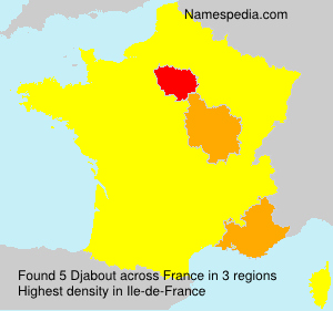 Surname Djabout in France