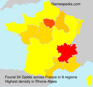 Surname Djebbi in France