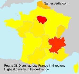 Surname Djemil in France