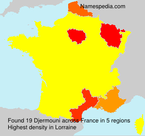 Surname Djermouni in France