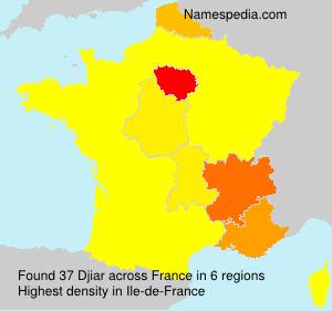 Familiennamen Djiar - France