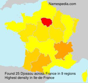 Familiennamen Djossou - France
