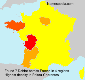 Surname Dobbe in France