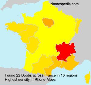 Surname Dobbs in France