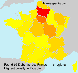 Surname Dobel in France
