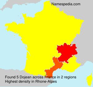 Familiennamen Dojean - France