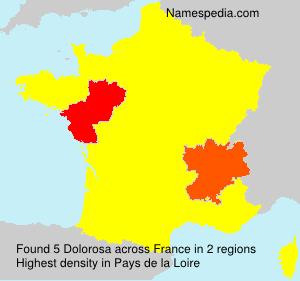 Surname Dolorosa in France