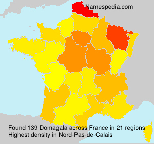 Surname Domagala in France