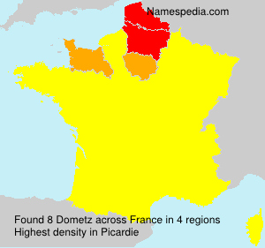 Surname Dometz in France