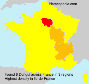 Surname Dongui in France