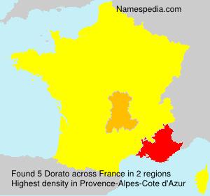 Surname Dorato in France