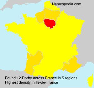Surname Dorby in France