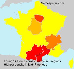 Surname Dorca in France