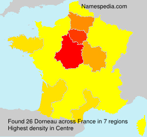 Surname Dorneau in France