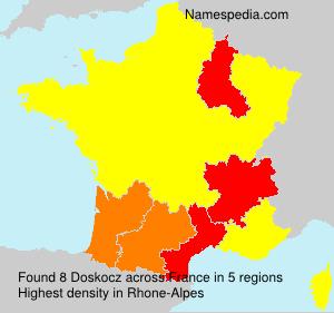 Surname Doskocz in France
