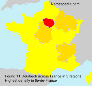 Surname Douihech in France