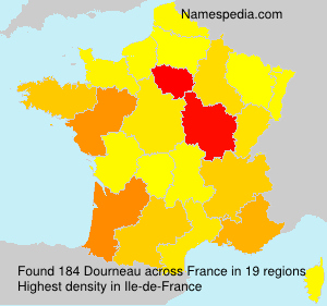 Surname Dourneau in France