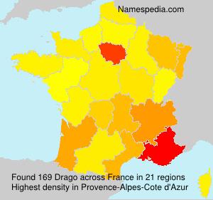 Familiennamen Drago - France