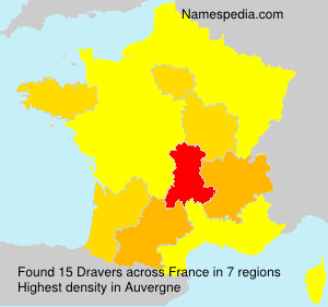 Surname Dravers in France