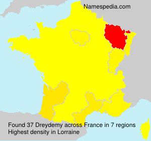 Surname Dreydemy in France