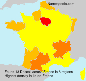 Surname Driscoll in France
