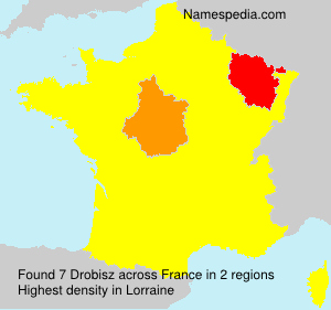 Surname Drobisz in France