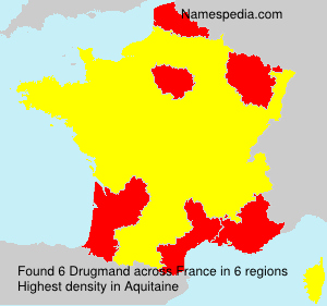 Surname Drugmand in France