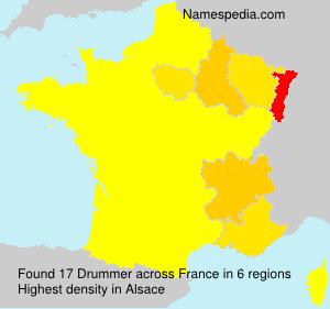 Familiennamen Drummer - France