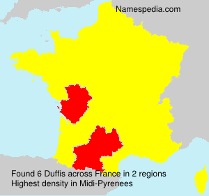 Surname Duffis in France