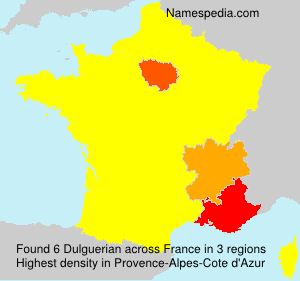 Surname Dulguerian in France