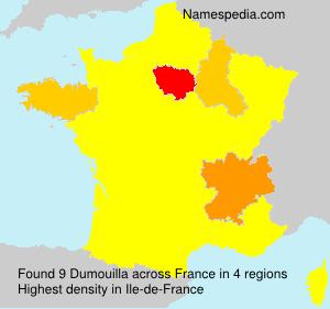 Surname Dumouilla in France