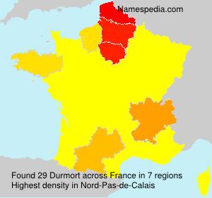 Surname Durmort in France