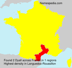 Surname Dyall in France