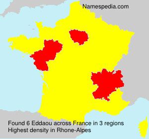 Surname Eddaou in France