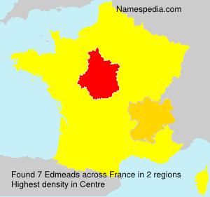 Surname Edmeads in France