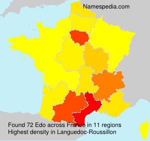 Surname Edo in France