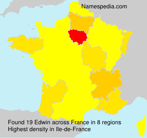Surname Edwin in France